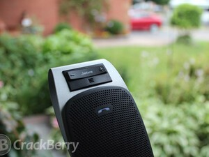 Keep your eyes on the road with the Jabra DRIVE Bluetooth speakerphone