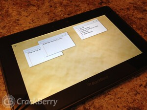 Organize your life with Many Notes for the BlackBerry PlayBook