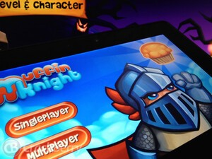 Snatch up all the muffins in Muffin Knight for the BlackBerry PlayBook