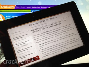 Review: NewsPile for the BlackBerry PlayBook