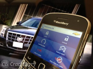 Remote control your car with the OnStar app for BlackBerry smartphones