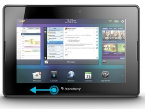 PlayBook OS 2.0 quick tip: Closing folders with a swipe of the finger