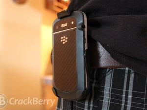 Keep your BlackBerry at your side with the Seidio Spring Clip Holster for the BlackBerry Bold 9900