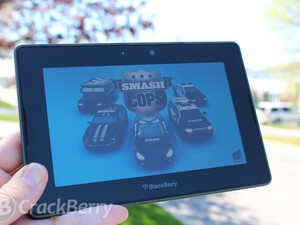 Be the police in your story of cops and robbers with Smash Cops for the BlackBerry PlayBook