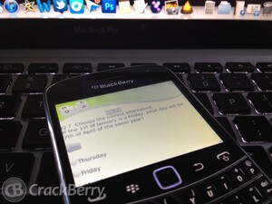 Prepare for exams and tests with Study Buddy for BlackBerry smartphones