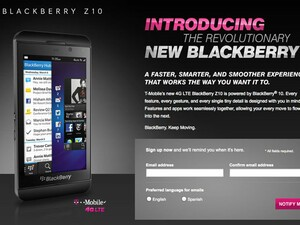 T-Mobile confirms they will carry the all new BlackBerry Z10