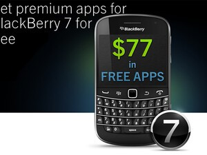 Free BlackBerry 7 app promotion ends May 31st - Get them before they're gone