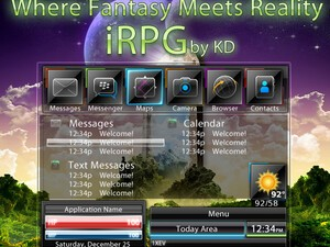 Get your gamer fix with iRPG from KD Themes - 25 copies up for grabs!