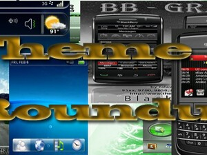 BlackBerry theme roundup for Aug 16th, 2010 - 20 copies of Garminfone to be won!