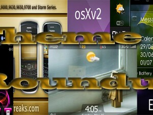 BlackBerry theme roundup for July 5th, 2010 - 50 free copies of osXv2 to be won!