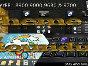 BlackBerry theme roundup for June 23, 2010 - Contest! 50 copies of LeatherBB to be won!