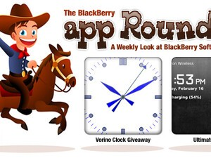 BlackBerry App Roundup for February 26th, 2010; Contest: 25 Copies of Vorino Clock to be Won!