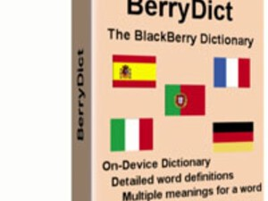Dictionaries for your Blackberry