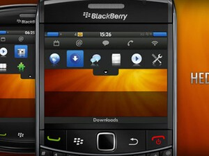 Ambos - A Darker BlackBerry Theme From Hedone Design