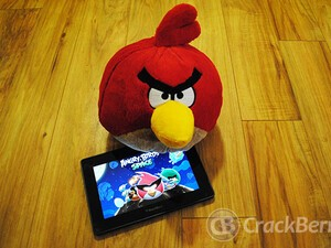 Angry Birds Space for the BlackBerry PlayBook now available (Yes, for real this time)