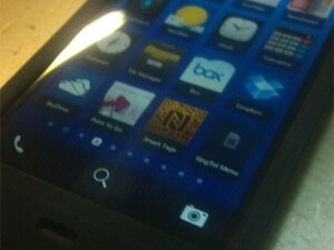 BlackBerry 10 L-Series spotted once again in all its blurry cam glory