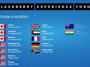 BlackBerry 10 Experience Forum kicks off in February starting with Toronto