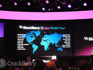 RIM preparing to take BlackBerry 10 Jam on tour to reach out to even more developers