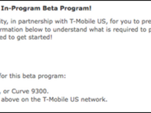 BlackBerry 6 for the T-Mobile Bold 9700/9780 & Curve 3G added to BlackBerry Beta Zone