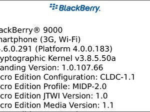 Official Bold 9000 OS 4.6.0.291 released by T-Mobile UK