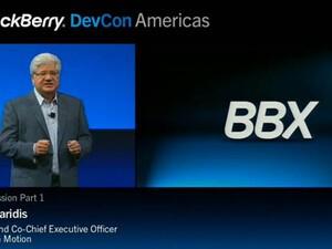 BBX OS announced at DevCon 2011 today