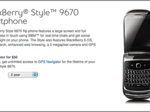 BlackBerry Style 9670 now officially available from Bell Mobility