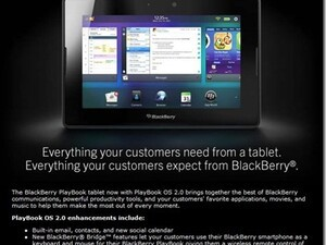 Best Buy now training employees about PlayBook OS 2.0