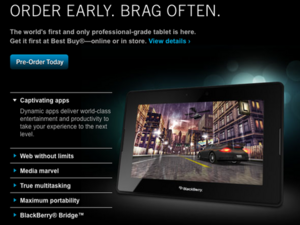 Best Buy begins accepting orders for BlackBerry PlayBook today