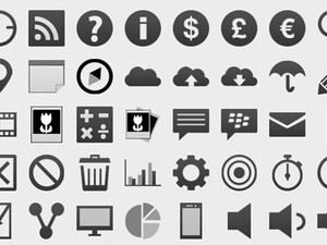 Developers: Need some icons to use in your BlackBerry 10 app? Try these!