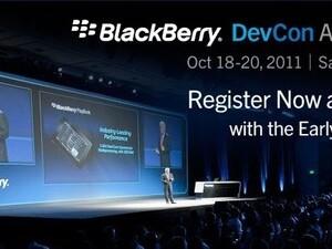 BlackBerry DevCon 2011 registration now open