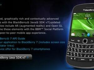 BlackBerry Java SDK v7.1 Beta now available to developers