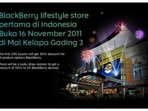 BlackBerry Lifestyle store in Indonesia opens November 16