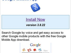 Google Mobile App for BlackBerry updated to version 3.8.22