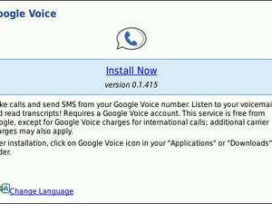 Official Google Voice Application for BlackBerry Launched Today via Googles Mobile Site!