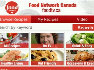 The Food Network Launches Mobile App For BlackBerry