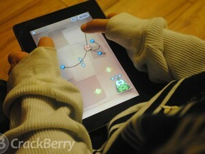 Cut the rope HD for the BlackBerry PlayBook updated to v1.1