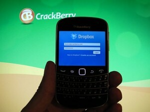 Dropbox for BlackBerry now working on BlackBerry 7 devices