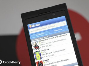 Flixster goes live with their app for BlackBerry 10