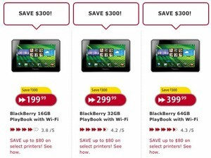 BlackBerry PlayBook - All models now $300 off at Futureshop and Best Buy Canada