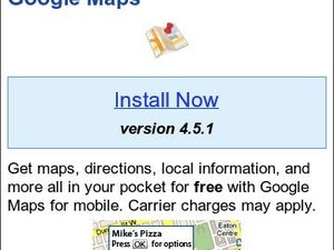 Google Maps for BlackBerry v4.5.1 released