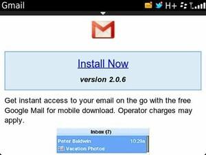 Google deprecating native GMail app for BlackBerry as of November 22