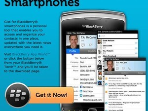 Gist - Now available for the BlackBerry Torch