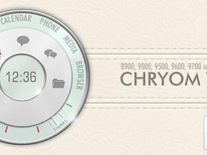 Hedone Design Releases Chryom Premium Theme for BlackBerry Smartphones