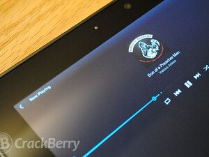 Make use of Google Music on your BlackBerry PlayBook using GoogMusic