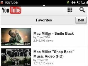 YouTube Mobile goes HTML5 for BlackBerry 7 devices