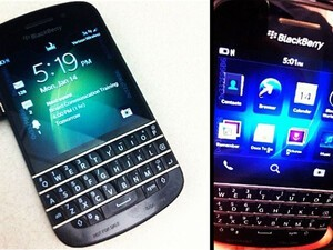 BlackBerry X10 QWERTY shots spotted on Instagram