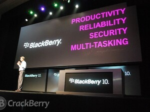BlackBerry 10 Jam World Tour for Enterprise Developers visiting 11 cities