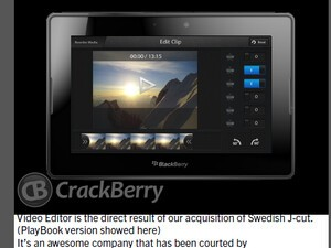 Internal RIM document offers a glimpse of upcoming Jay Cut video editor for BlackBerry 10 devices