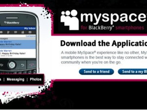 MySpace Finally Hits BlackBerry!