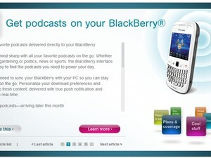 BlackBerry Podcasts app soon to be released?!?